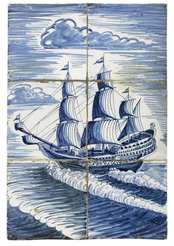 Tiles image, probably England - photo 1
