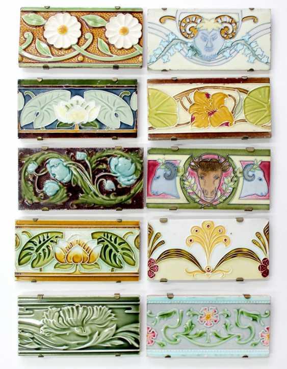 Art Nouveau tiles - photo 1