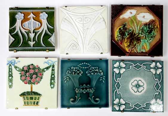 Art Nouveau Tile Collection - photo 1