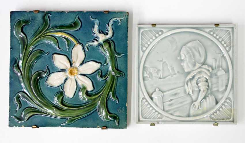 Art Nouveau Tile Collection - photo 2