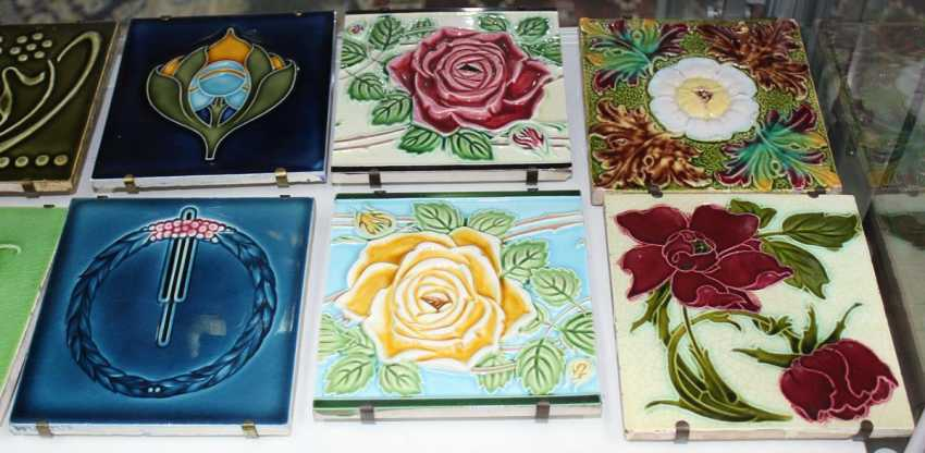 Art Nouveau Tile Collection - photo 4