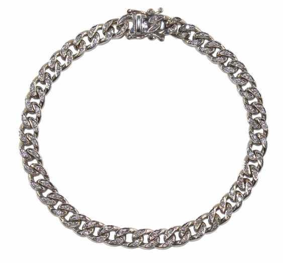 Bracelet Brilliant 585 White Gold - photo 1