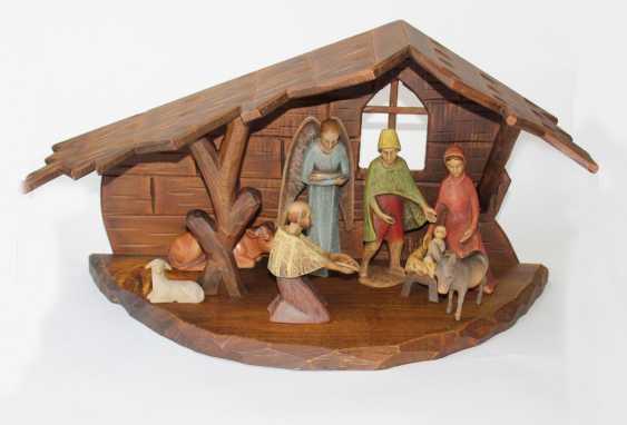 Christmas Nativity u -pyramid - photo 1