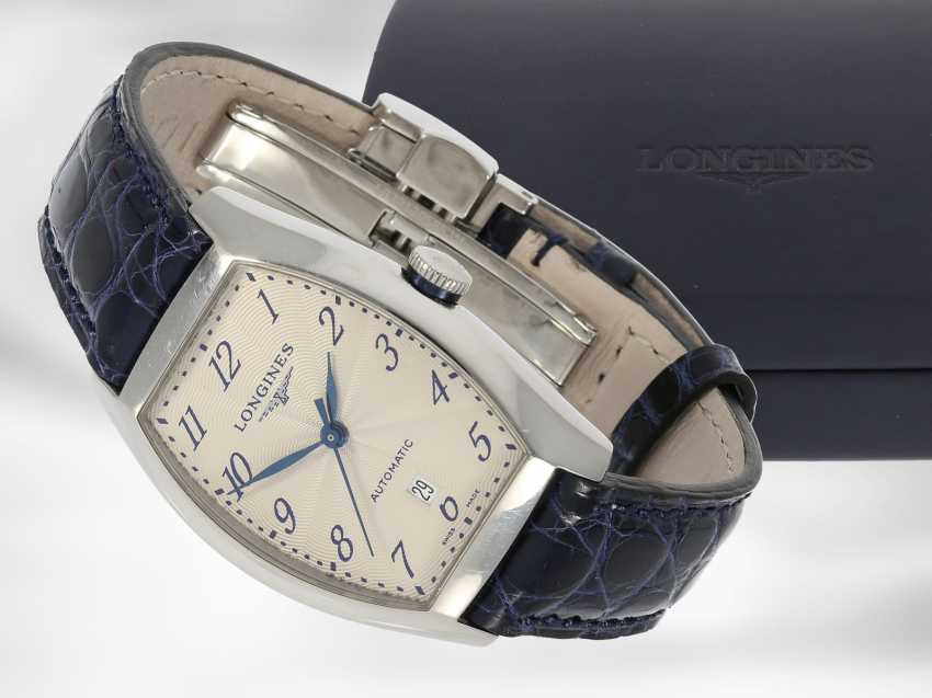 """Wrist watch: high quality automatic watch, Longines """"Evidenza Lady Automatic"""" Ref. L2.142.4 with original box and papers - photo 1"""
