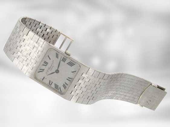 Watch: interesting, heavy white gold vintage wrist watch Chopard, 18K Gold - photo 2