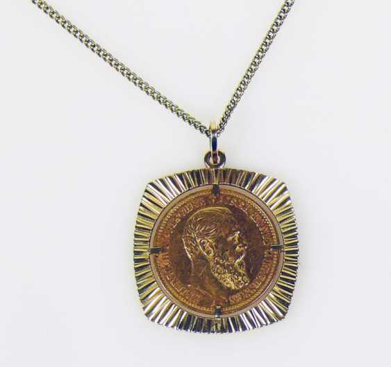 Coin pendant - photo 1