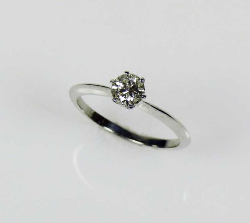 Solitaire-Brilliant Ring - photo 1