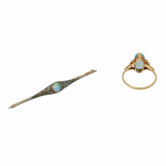 Vintage antique jewelry 2-piece - photo 4