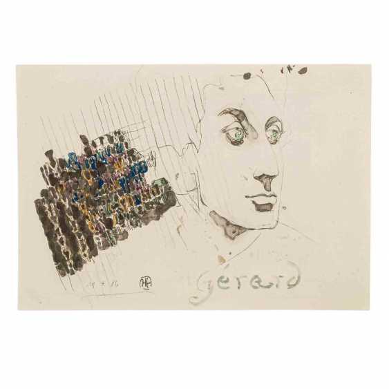 JANSSEN, HORST (1929-1995) 'A Parisian home', 1986. - photo 3