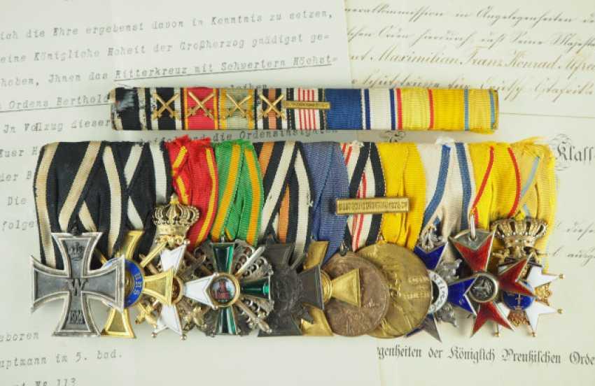 Baden: property of Lieutenant-Colonel, SS-Standartenführer and Gauverbindungsführer Gau Baden Dr. Maximilian servant.