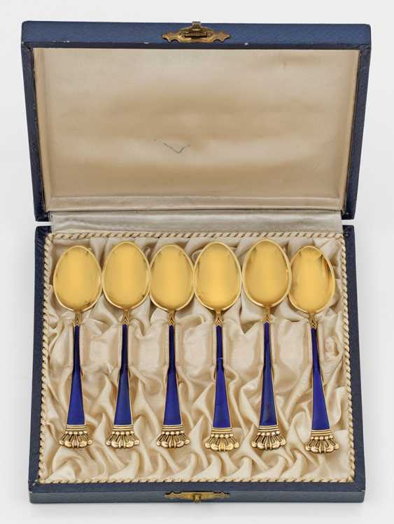 Six Mocha Spoons - photo 1