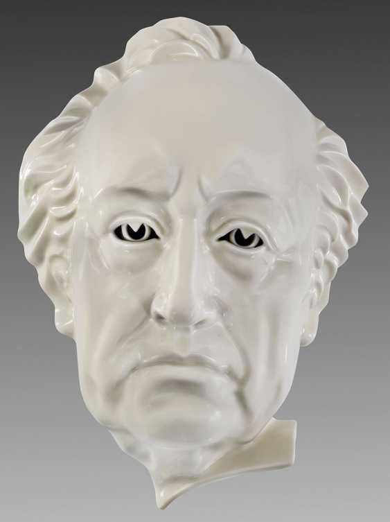 "Wall mask ""Johann Wolfgang von Goethe"" - photo 1"