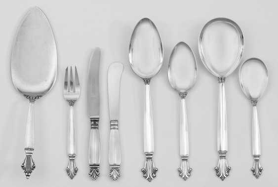 "Georg Jensen-Rest Cutlery ""Queen"" - photo 1"