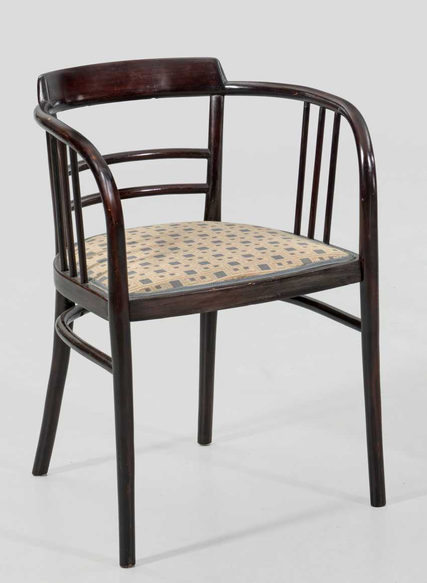 Art Nouveau armchair in the style of Otto Wagner - photo 1