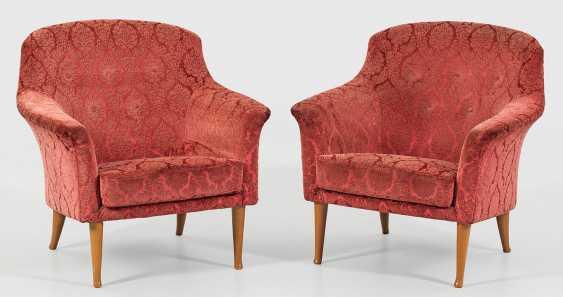 Pair of Vintage armchairs by Kerstin Hörlin-Holmquist - photo 1