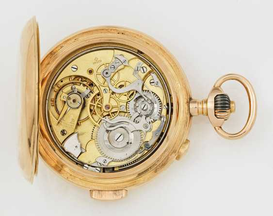 Gold Savonette minute repeater and Chronograph - photo 2