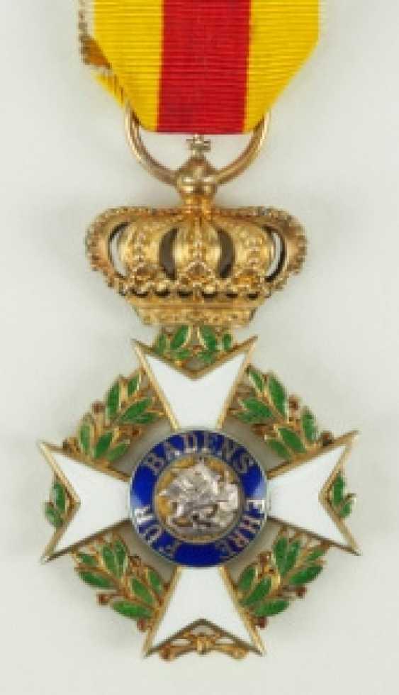 Baden: Military Karl-Friedrich Merit Order, Knight's Cross. - photo 1