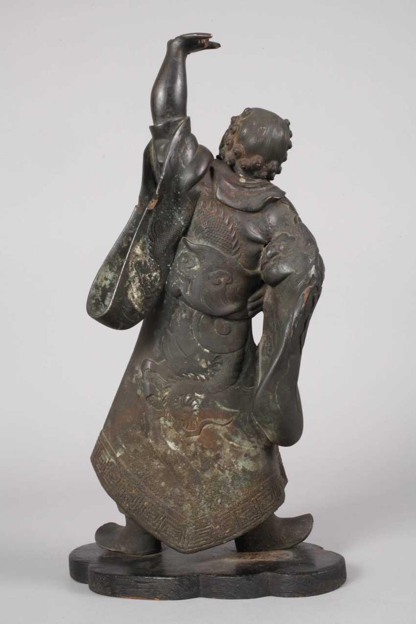 Bronzeplastik Guan Yu - Foto 2
