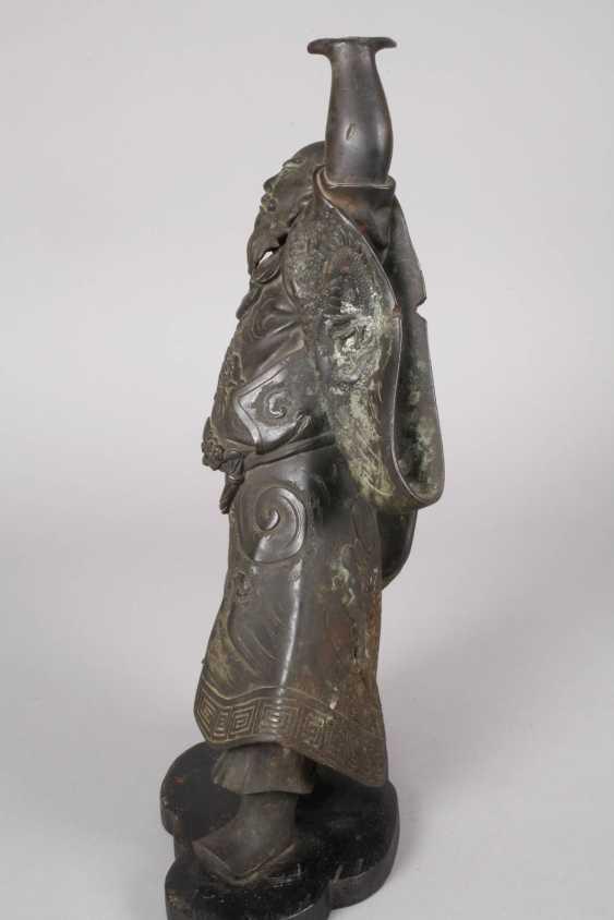 Bronzeplastik Guan Yu - Foto 3