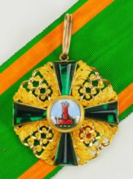 Baden: Grand of the order of the Zähringer lion, knight commander's cross, Duke