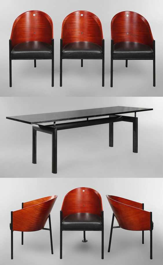 Dining Table And Six Chairs By Philippe Starck Buy At Online Auction At Veryimportantlot Com Auction Catalog 98th Auction Antiques Art Design Day 2 From 29 05 2020 Photo Price Auction Lot 2615