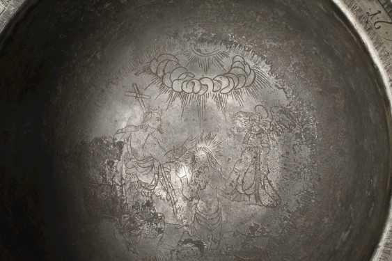 Gravierte Tischschale 1674 - Foto 2