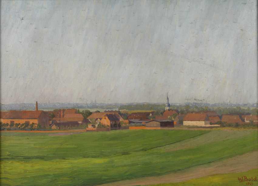 """Wilhelm Bolde, """"Holleben bei Halle"""" - Foto 1"""