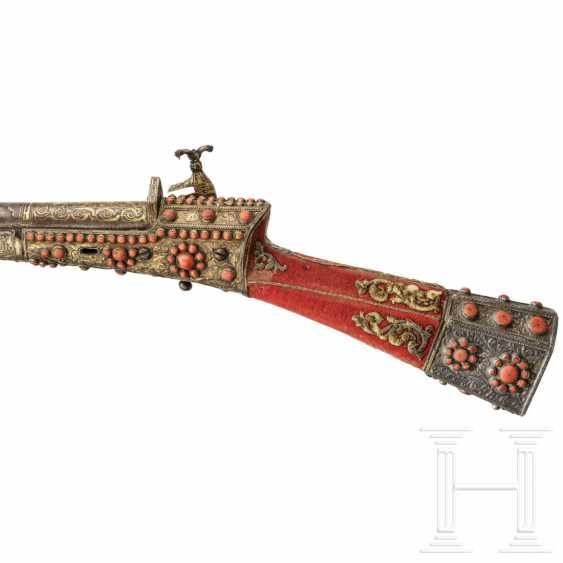 Coral studded Tüfek, Ottoman, 18. Century - photo 9
