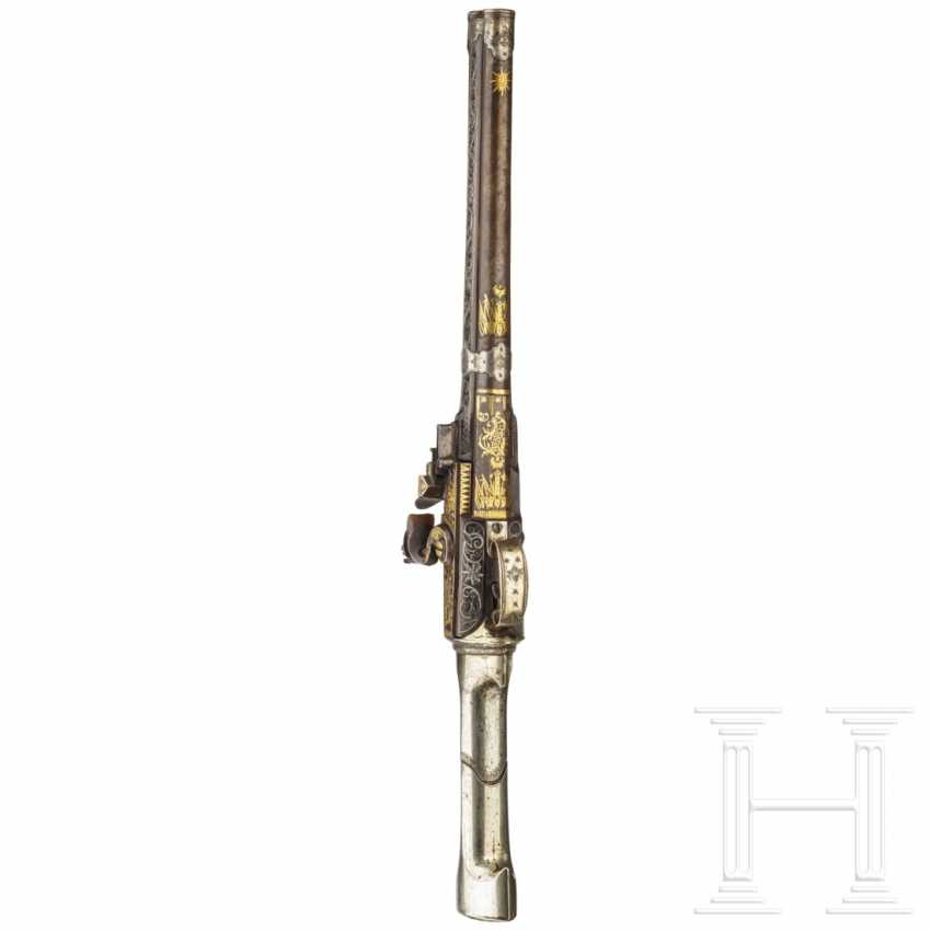 Kandschar-Bockpistole, osmanisch, 19. Jahrhundert - Foto 5