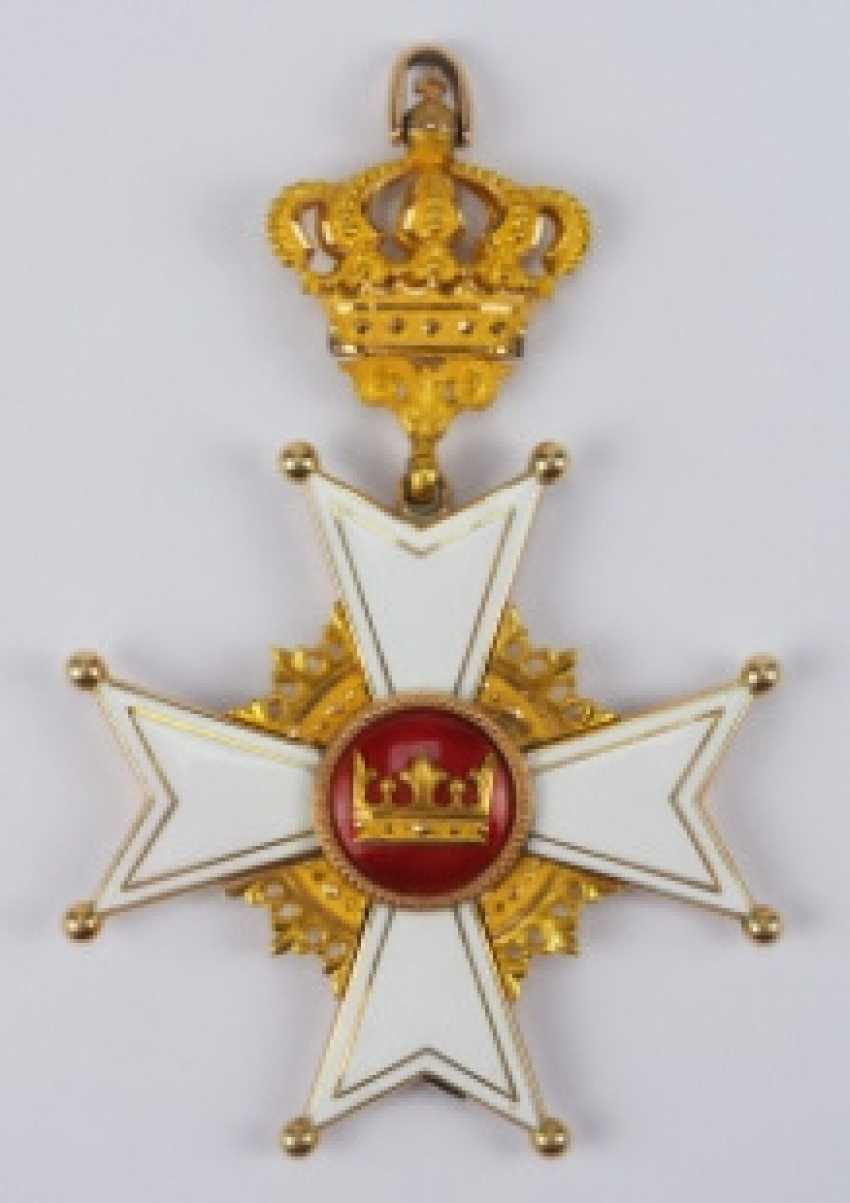 Baden: order of Berthold the First, Grand cross