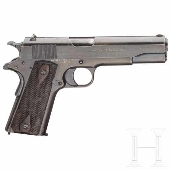 """Militaire 1911 colt pistolet .45 en Marron-Étui pour 12/"""" Action Figure 1:6"""