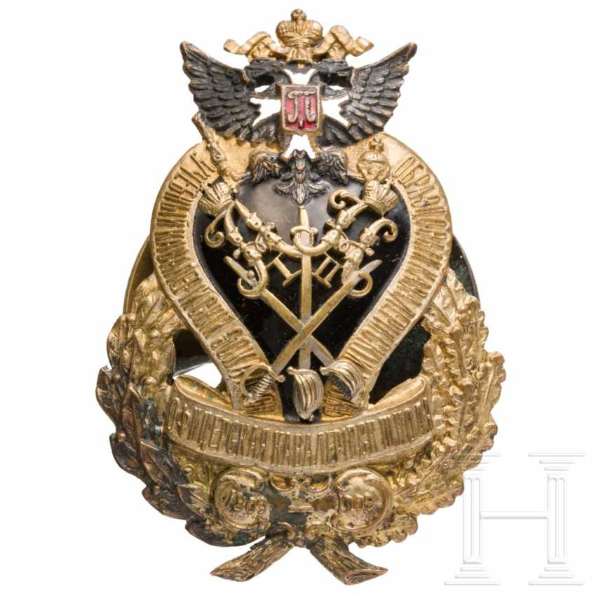 Anniversary of the cavalry officer school, Russia badge, C. 1910 - photo 1