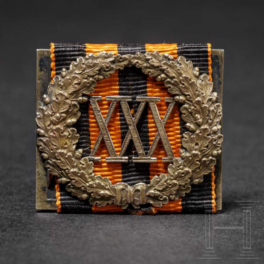 Lots of service badges for the 30-year-old censure of the time, Russia, dated 1830 - photo 1