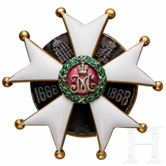 Badge of the 2. Pskovsky Leib Dragoon regiment of her Imperial Majesty Maria Feodorovna, Russia, to 1913/15 - photo 1