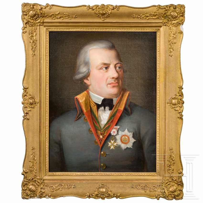 Franz Joseph Martin, Freiherr von Albini (1748 - 1816) - Portrait of a senior Minister of the Grand Duchy of Frankfurt in 1810 - photo 1