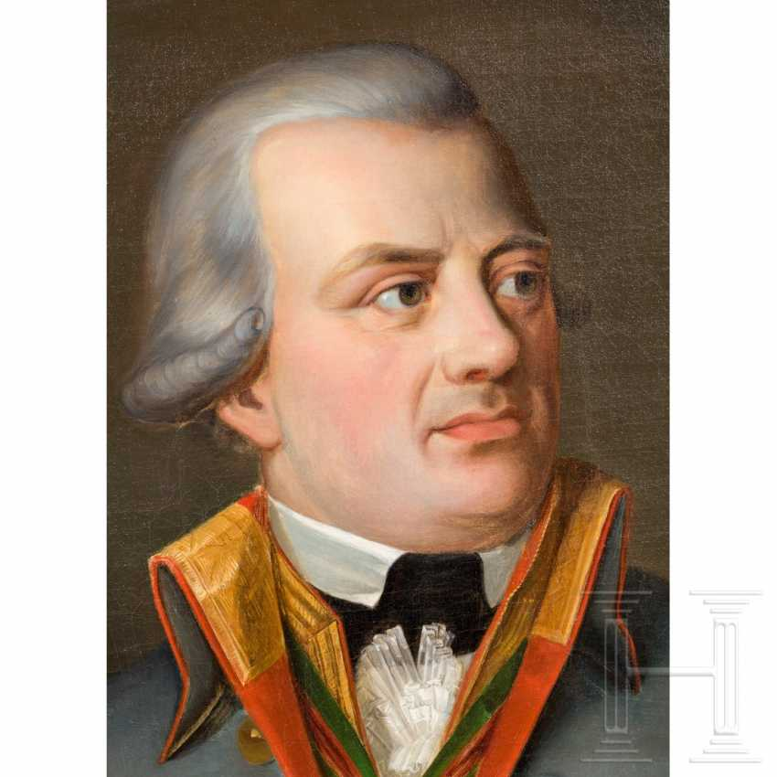 Franz Joseph Martin, Freiherr von Albini (1748 - 1816) - Portrait of a senior Minister of the Grand Duchy of Frankfurt in 1810 - photo 4