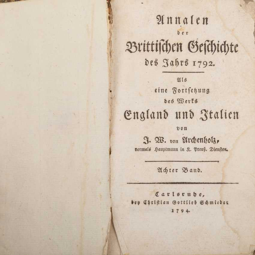 3-piece historical books collection, Europe 18. Century. - - photo 2