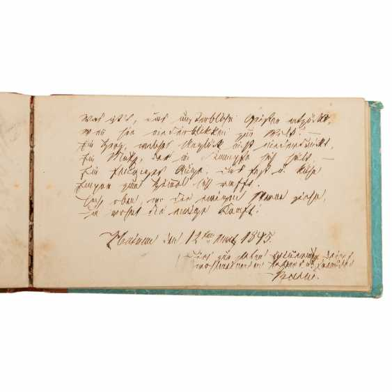 Poetry album, conducted in the period 1845/46, - photo 3