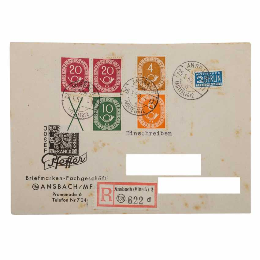 Germany after 1945 - 17 lot cards of another auction house, - photo 2