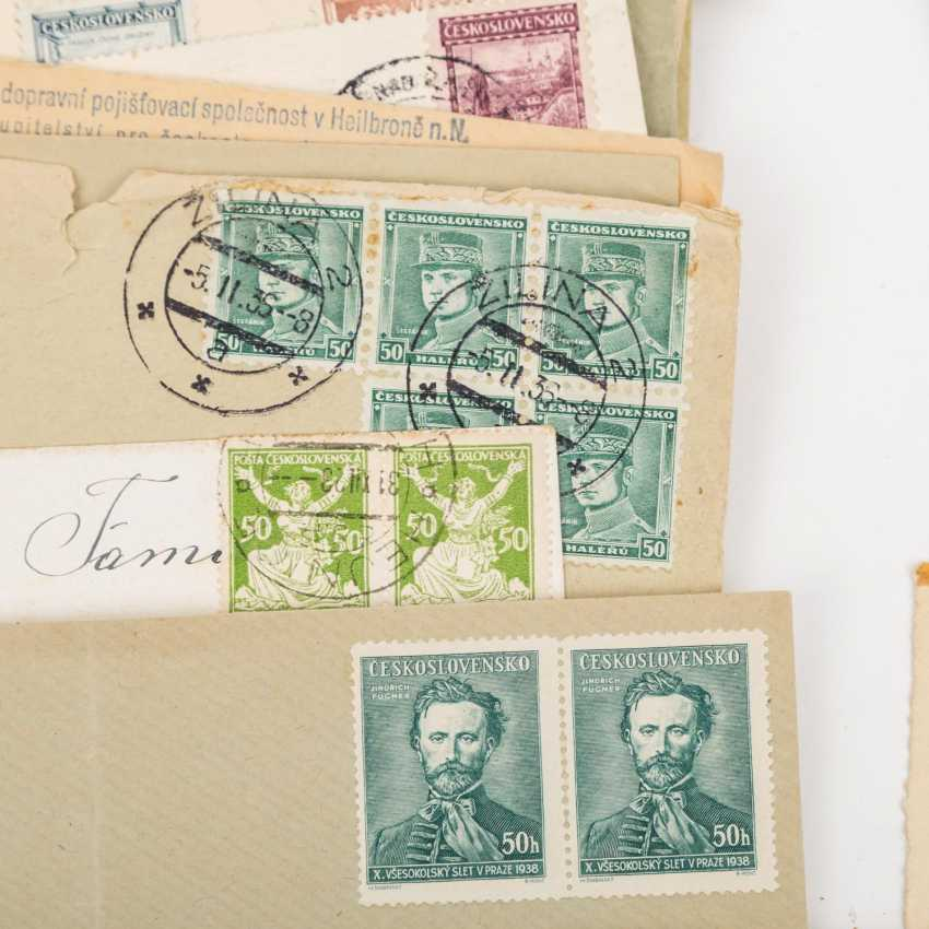 CSSR - from 1918/38, well over 100 cards and letters, - photo 2