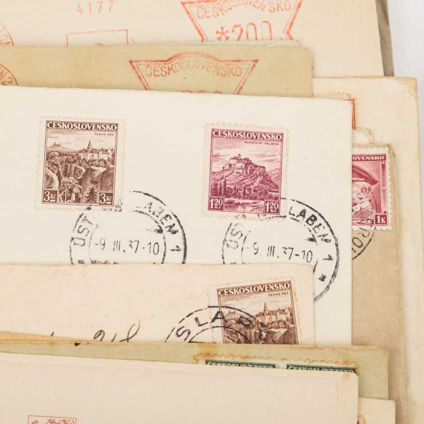 CSSR - from 1918/38, well over 100 cards and letters, - photo 4