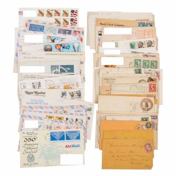 USA - ex 1870/2000, 85 covers about, - photo 1