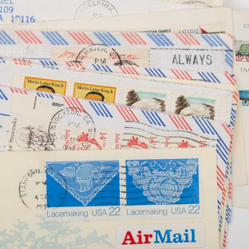 USA - ex 1870/2000, 85 covers about, - photo 2