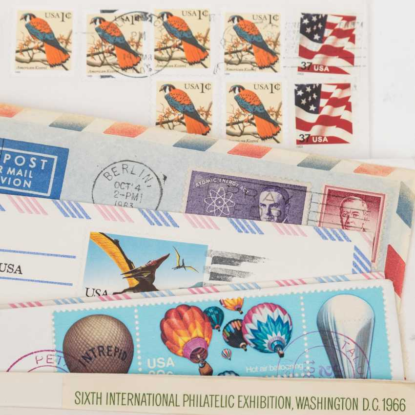USA - ex 1870/2000, 85 covers about, - photo 3