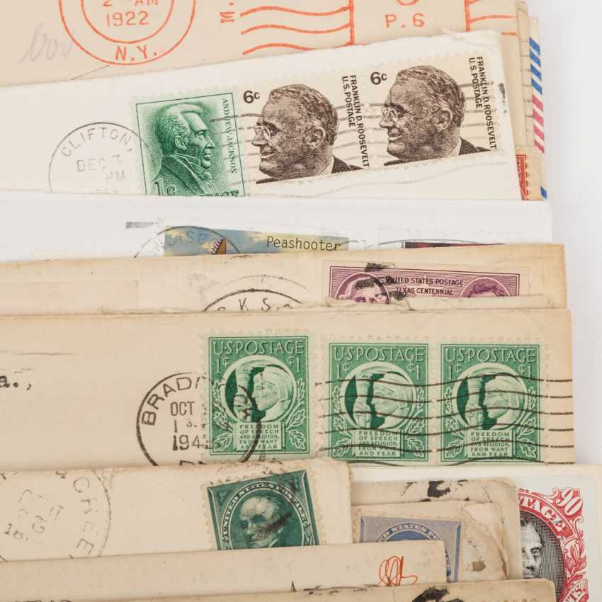USA - ex 1870/2000, 85 covers about, - photo 4