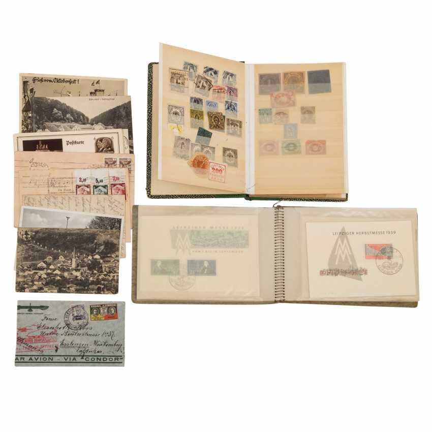 Small treasure trove of Zeppelin document, - photo 1