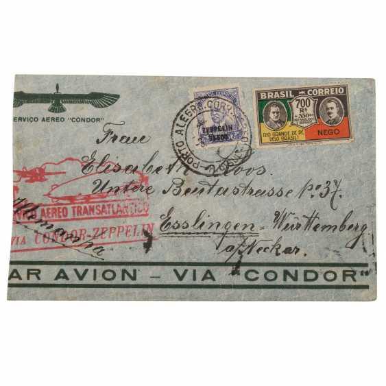 Small treasure trove of Zeppelin document, - photo 4