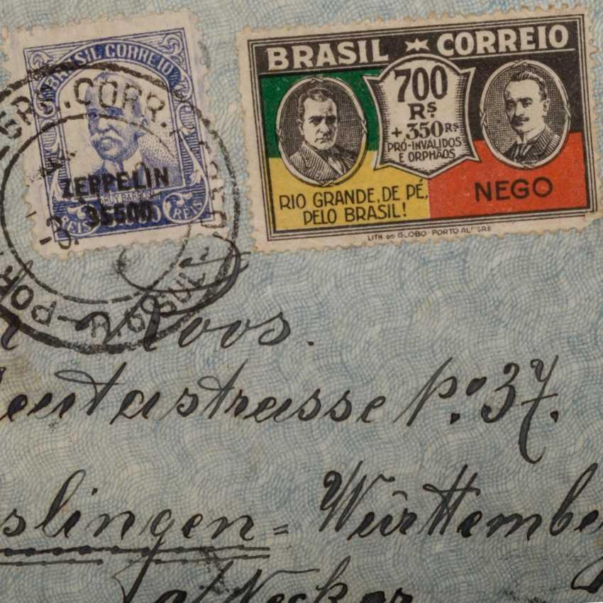 Small treasure trove of Zeppelin document, - photo 5