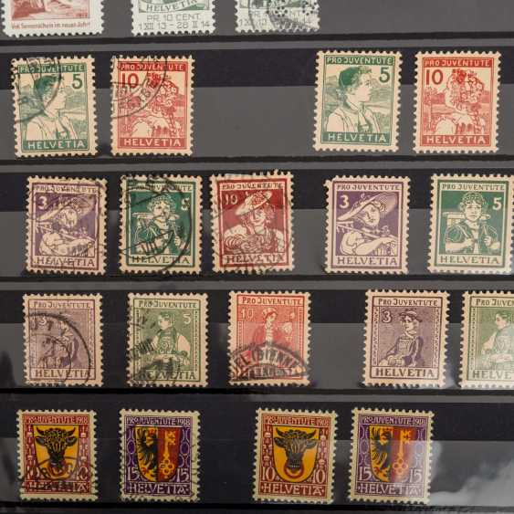 Switzerland collection of Pro Patria and Pro Juventute from 1912, - photo 2