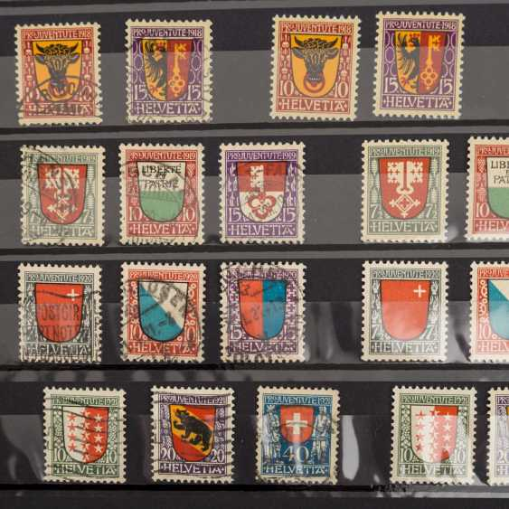 Switzerland collection of Pro Patria and Pro Juventute from 1912, - photo 3
